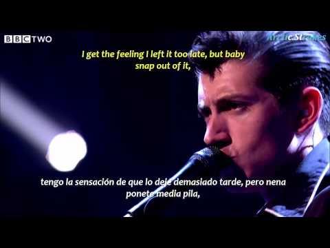 Arctic Monkeys - Snap out of it (inglés y español)