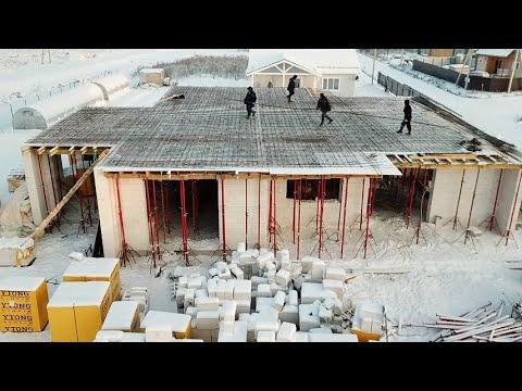 Белый ДОМ. Арматура на крышу за 920 тыс. руб. НЕ ДВОРЕЦ )