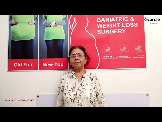 Mrs. Meenakshi Dawawala shares her Bariatric Surgery done experience Under Dr. Aparna Govil