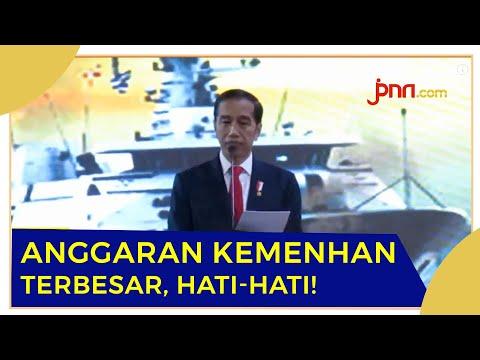 Jokowi: Prabowo Detail, Anggaran 127 T Aman Di Tangannya