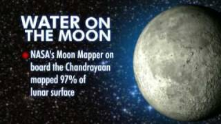 Chandrayaan discovers water on moon