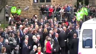 Bobby Robson Memorial Service clips