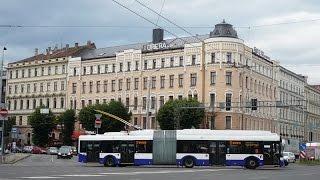 Riga trolleybuses 2015