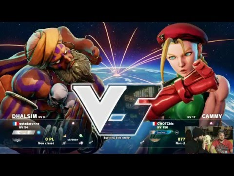 [GK Live] Street Fighter V : la rédaction vs le chat
