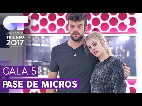 """THE TIME OF MY LIFE"" - Ricky y Nerea | Primer pase de micros para la Gala 5 | OT 2017"