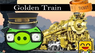Bad Piggies 2.0 - GOLD TRAIN (Crazy Inventions) #SuperflyStyle #SuperflyGaming
