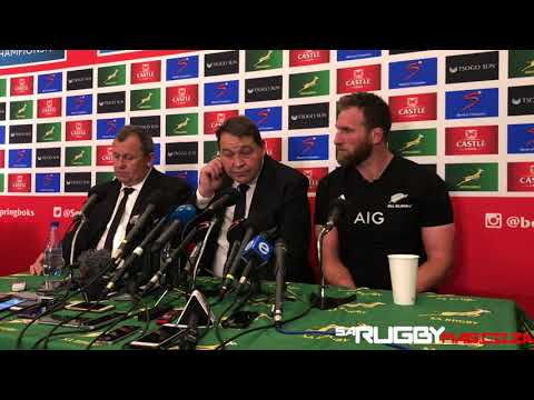 All Blacks press conference (06/10/18)
