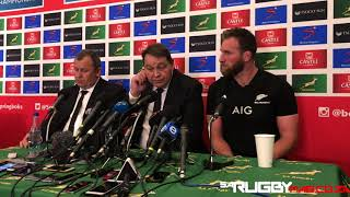 All Blacks press conference (06/10/18)