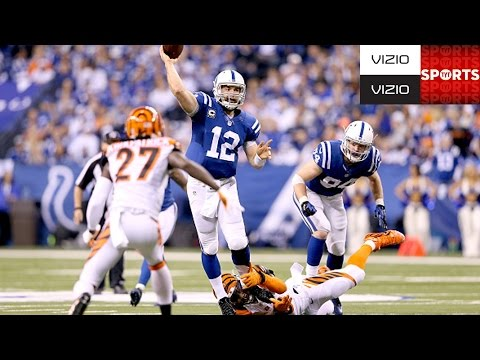 Bengals vs. Colts [CAN LUCK BEAT MANNING?]