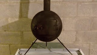 Wood Stove made from an old propane bottle DIY