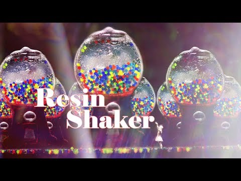 GUMBALL MACHINE RESIN SHAKER WITH ORBEEZ (and the secret behind shaker oil)