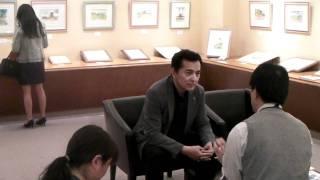 その榎木孝明さんが近鉄百貨店奈良店で自身の水彩画の個展『~光と風の...