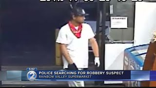Police search for suspect in Palolo supermarket robbery