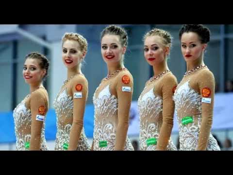 Россия ленты ЧЕ 2016 Холон чемпионат Европы по художественной гимнастике = Russia 5 Ribbon EF   Euro