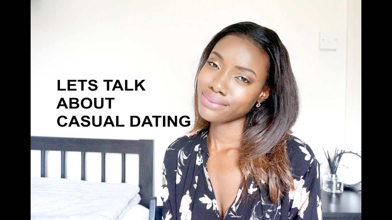 casual dating the talk