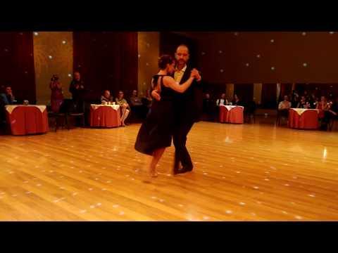 Rafal Witkovski & Ksenia Bondar (Milonga). Kyiv Inernational Tango Festival 2017