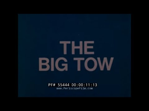 "1974 LAING OFFSHORE FILM ""THE BIG TOW""  GRAYTHORPE I OIL RIG  BP NORTH SEA FORTIES OILFIELD  55444"