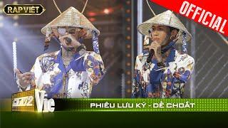 Biến hóa khôn lường, Dế Choắt gây rợn người với bản rap đẳng cấp Phiêu Lưu Ký| RAP VIỆT [Live Stage]