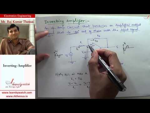 Inverting Amplifier - Electronics Engineering by Raj Kumar Thenua (Hindi / Urdu)
