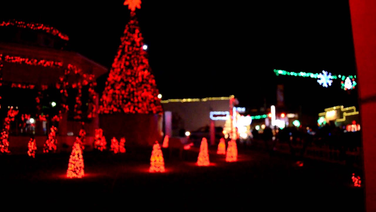 grapevine christmas light showmov youtube - Christmas Light Show Youtube