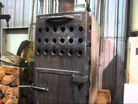 Wood Stove For Shop Youtube
