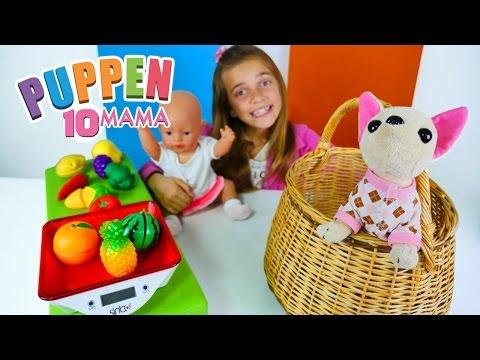 #PuppenMama – Wir gehen auf den Markt – Lehrreiches Video für Mädchen