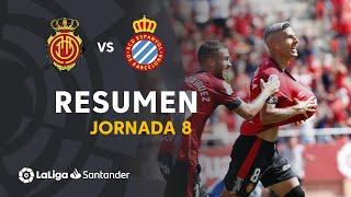 Resumen de RCD Mallorca vs RCD Espanyol (2-0)
