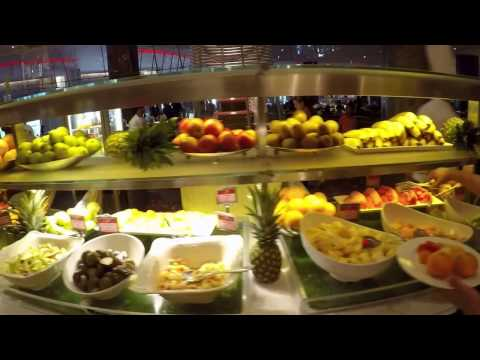 Atlantis The Palm Hotel Dubai Saffron Restaurant breakfast Full HD GOPR0612