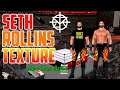 Seth Rollins New Texture | New Raw Attire For Wwe Svr 2011/ 2k18 For PSP By Mr. Techdroid