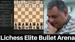 Beserk! Elite Bullet Chess Arena : Entry requirement min rating: 2200 : 26th November 2016
