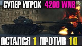 WoT Fan ОН ОСТАЛСЯ 1 ПРОТИВ 10 В ГОРОДЕ | БОЙ ГОДА World Of Tanks(, 2017-02-20T14:18:33.000Z)