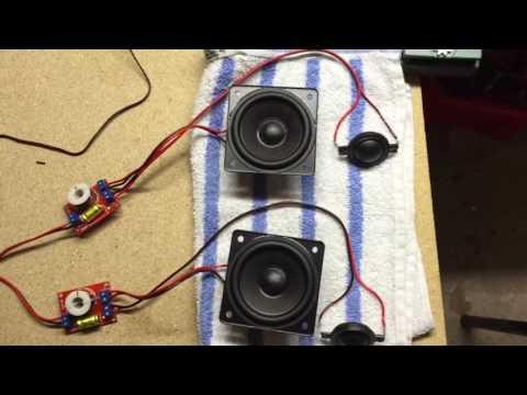 Nykomna Bygga en Bluetooth Högtalare - DIY Boombox - YouTube TH-91