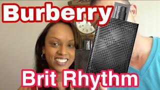 Burberry Brit Rhythm fragrance/cologne review