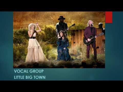 2016 Country Music Association Awards Winners List