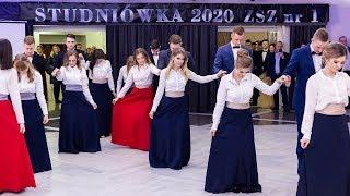 Studniówka ZSZ nr 1 w Ostrołęce - polonez