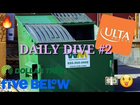 DAILY DIVING VLOG #2 (Ulta, Dollar Tree, Five Below and MORE!)