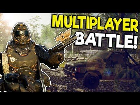 HUGE MULTIPLAYER MILITARY BATTLE IN VR! - Zero Caliber VR Gameplay - Oculus Rift Games