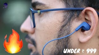 Wings Glide Neckband Unboxing and review in Hindi [For students]