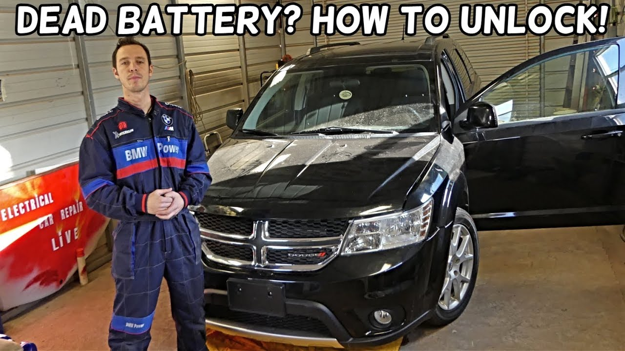 how to unlock dodge journey with dead battery fiat freemont youtube. Black Bedroom Furniture Sets. Home Design Ideas