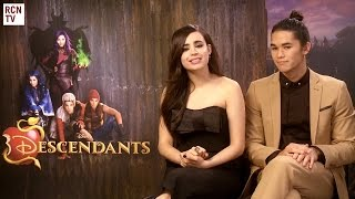 Descendants Sofia Carson & Booboo Stewart Interview