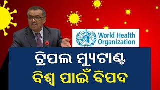India's Triple Mutant COVID Variant B.1.617 Is Matter Of Global Concern: WHO || KalingaTV