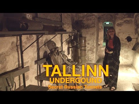 Tallinn underground - the secret war tunnels the punks parti