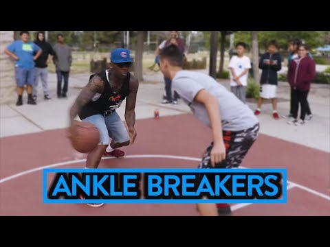 BEST STREETBALL MOVES ft. BONE COLLECTOR - Fung Bros Basketball