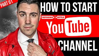 🎬How to Start and Grow Your YouTube Channel from ZERO [1/7]