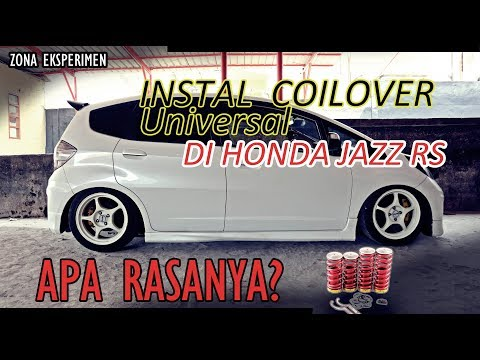 CARA INSTAL / PASANG COILOVER CONVERSION KIT (UNIVERSAL)