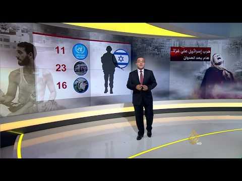 الحرب الإسرائيلية على غزة.. عام بعد العدوان
