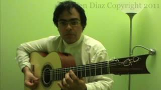 Cante 5 (Sing) Flamenco Tangos Accompaniment Guitar Lesson GFC estudio Malaga Ruben Diaz