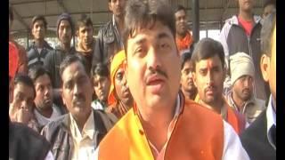 sunil singh, pradesh adhyaksh hindu yuva vahini