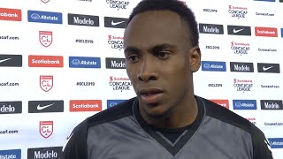 Triston Henry's impressions on the home victory 1-0 over CD Olimpia