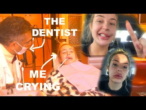 TANA GOES TO THE DENTIST (surgery... tears... laughing gas)